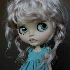 Cutie of the Day by @suedolls #blythe #dollycustom #blythecustom #blythecustomizer #ooakblythe #customblythe #kawaii #doll #artdoll #dollstagram #blythestagram #blythelover #ブライス
