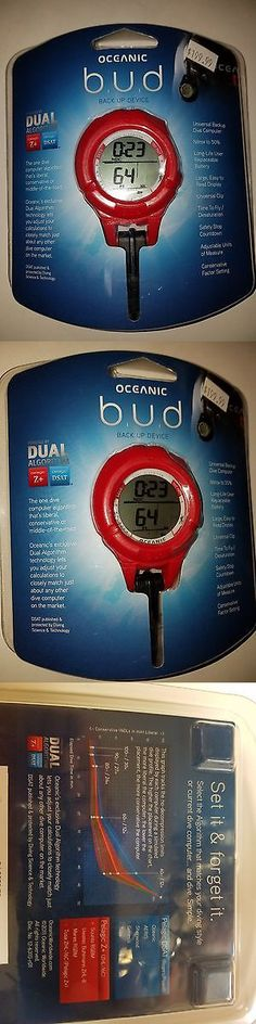 Dive Computers 50882: ** New ** Oceanic Bud Back Up Scuba Wrist Computer Red New -> BUY IT NOW ONLY: $159.99 on eBay! http://www.deepbluediving.org/zeagle-scout-bcd-review/