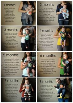 Let Marni G Designs track your baby's progress with a professionally created graphic layout. We can print it for you on a poster or canvas for a beautiful display! MarniGDesigns@aol.com -- type baby board in subject line.