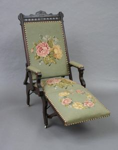 Victorian: #Victorian chaise longue.