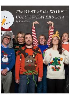 The Best of the Worst Ugly Sweaters 2014 by KnitPicks