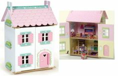 Sweetheart Dolls House with furniture