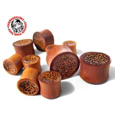 Saba wooden plugs with palm wood inlay Wooden Plugs, Ear Gauges, Dog Food Recipes, Inlay Wood, Palm, Coconut, Hand Prints