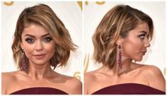 Bob haircuts remain a hairstyle trend this year. But these aren't your mother's bobs. See photos of the sexiest, classiest and coolest bobs today.: Deep Side Part With Angled, Side-Swept Bangs