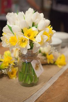 mason jar for flowers