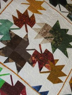 Fall For Autumn Quilt from Australian Patchwork and Quilting