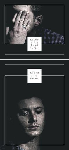 Dean Winchester: carry on my wayward son #spn