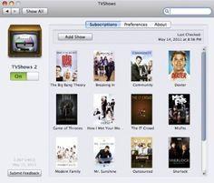 TVShows 2 es una aplicación gratuita para Mac con la cual podrás seguir todas tus series, además este programa añade un plus, ya que podrás descargar los capítulos automáticamente.