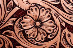 Tooled Leather Background
