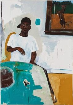 aubrey levinthal painting blog: Henry Taylor and the Studio Visit