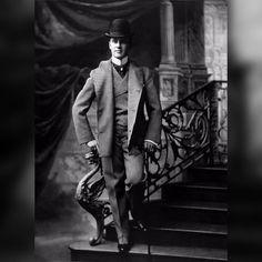 fashionable man c1895
