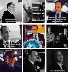Agent Coulson ... cooler than Nick Fury