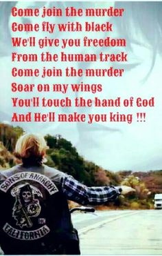 "SOA - ""come join the murder"" by The White Buffalo & The Forrest Rangers"
