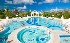 Pool at Beaches Turks and Caicos
