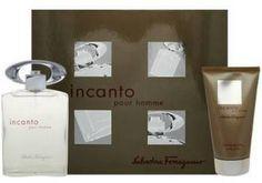 9bc0bd601ef0 Incanto Pour Homme by Salvatore Ferragamo 2 Piece Set Includes  3.4 oz Eau  de Toilette