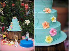 Hibiscus and plumeria wedding cake Luau Birthday, Birthday Cake, Wedding Dreams, Dream Wedding, Luau Theme, Dream Cake, Color Palate, Wedding Pinterest, Wedding 2015