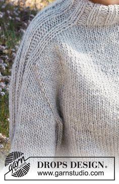 Outback / DROPS 217-23 - Ilmaiset neuleohje DROPS Designilta Baby Knitting Patterns, Free Knitting, Drops Design, Top Pattern, Free Pattern, Labor, Crochet Diagram, Work Tops, Chain Stitch