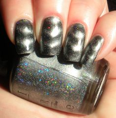 OPI's Is that Silva? Magnetic Manicure