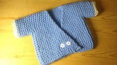 Knitting Baby Jacket - YouTube