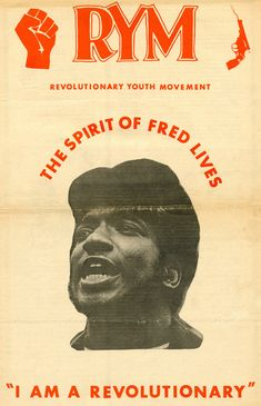 12/4/69 - Illinois Black Panther Party Chairman Fred Hampton and Defense Captain Mark Clark murdered in cold blood by Chicago police