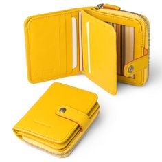 Wallet Compact for Women in Italian Leather | Exclusively for Toscanella