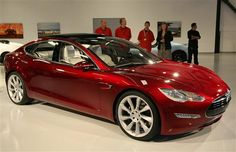 Tesla Motors Model S - Cranking some Tesla the band while cruising in this would be legendary!!