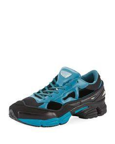 ADIDAS BY RAF SIMONS REPLICANT OZWEEGO TRAINER SNEAKER, BLACK.  #adidasbyrafsimons #shoes #