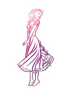 Rapunzel from Tangled Disney Rapunzel, Disney Pixar, Princesa Disney, Disney Fan Art, Disney And Dreamworks, Disney Love, Disney Magic, Walt Disney, Disney Characters