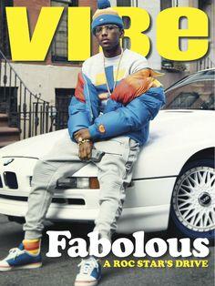 Complex Magazine - Fabulous for Vibe magazine. Vibe Magazine, Black Magazine, Hip Hop And R&b, Hip Hop Rap, Mode Masculine, Fabulous Rapper, Hip Hop Fashion, Mens Fashion, John Johnson