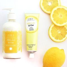 Hello yellow! Citrus-infused sweet cream shea butter is sunshine for your skin @farmhousefresh