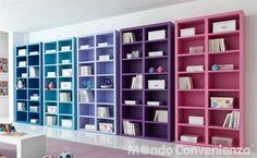 Il paese dei balocchi camere da letto complementi for Mondo convenienza librerie