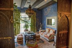 Mediterranean Living Photos Moroccan Living Room Design, Pictures, Remodel, Decor and Ideas
