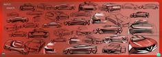 Zagato Alfa Romeo Division 2019 Concept - Design Sketches