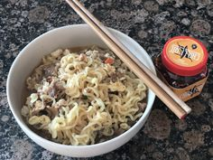 Classic noodles with Chicken & Black Bean Chilli Oil Bean Chilli, Black Beans, Noodles, Oil, Chicken, Classic, Ethnic Recipes, Macaroni, Derby