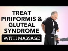 How to Use a Massage Gun to Treat Piriformis Syndrome/Deep Gluteal Syndrome - YouTube It Band Syndrome, Piriformis Syndrome, Being Used, Massage, Therapy, Exercise, Deep, Healing, Youtube