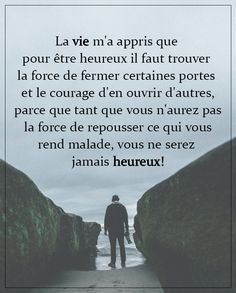 Motto Quotes, Dream Quotes, Mantra, Quote Citation, How To Speak French, French Quotes, Inspirational Quotes About Love, Good Thoughts, Positive Attitude