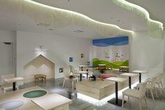 Nana's green tea café Ikspiari by KAMITOPEN, Urayasu – Japan - Retail Design Blog