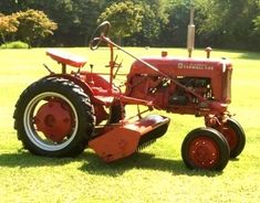 Cub flail mower mid mounted (wide unit)