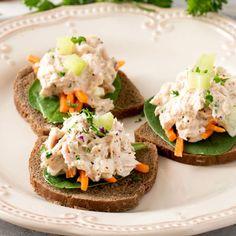 Classic Tuna Salad | Chicken of the Sea All You Need Is, Classic Tuna Salad Recipe, Seafood Recipes, Cooking Recipes, Tuna Recipes, What's Cooking, Seafood Dishes, Cooking Ideas, Bread Recipes