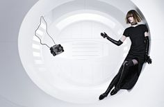 Ashleigh Good, Chiharu Okunugi, Soo Joo Park by Karl Lagerfeld for Chanel Campaign F:W 2013-2014 4