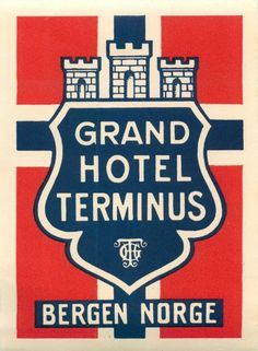 Grand Hotel Terminus, Bergen ~ Anonym | #Hotel #Terminus #Bergen