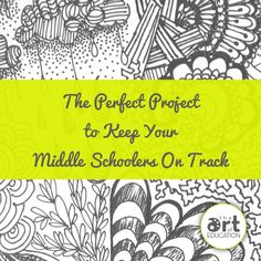The Perfect Project to Keep Your Middle Schoolers On Track