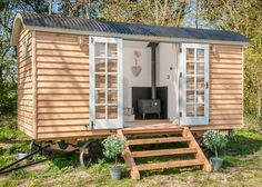 Build Shed with Zero Experience - Flat-pack shepherd hut orders up