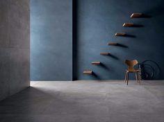 Revêtement de sol/mur en grès cérame effet béton SET CONCRETE by CERAMICA SANT'AGOSTINO