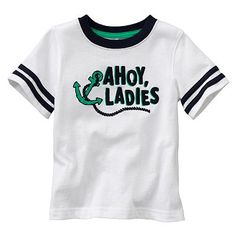 Jumping Beans Ahoy Ladies Tee - Baby