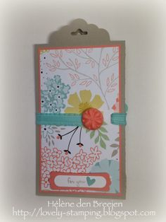 Lovely Stamping, Stampin' Up, Label card