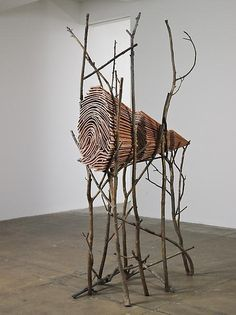 View Ombra di terra by Giuseppe Penone on artnet. Browse more artworks Giuseppe Penone from Marian Goodman Gallery. Land Art, Contemporary Sculpture, Contemporary Artists, Giuseppe Penone, Environmental Sculpture, Art Environnemental, Art Et Nature, Inspiration Art, Art Sculpture