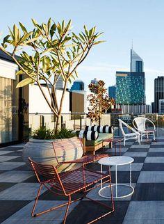 The Alex Hotel, Australia. Interiors by Arent & Pyke. Photo: Anson Smart.                                                                                                                                                      More
