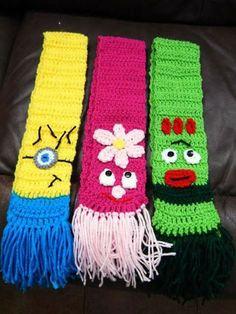 Crochet Tree Skirt, Crochet Kids Scarf, Crochet Winter, Crochet Shoes, Crochet Scarves, Crochet For Kids, Quick Crochet Patterns, Crochet Shrug Pattern, Hello Kitty Crochet