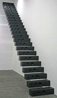 speaker stairs